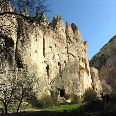 Zelve Open Air Museum New Goreme Cappadocia Tours